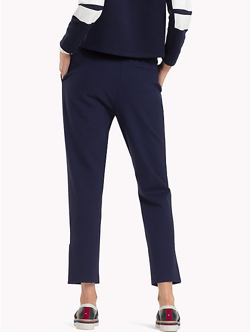 TOMMY HILFIGER Relaxed Fit Trousers - PEACOAT - TOMMY HILFIGER Trousers - detail image 1