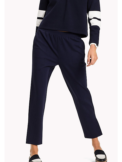 TOMMY HILFIGER Relaxed Fit Trousers - PEACOAT - TOMMY HILFIGER Trousers - main image