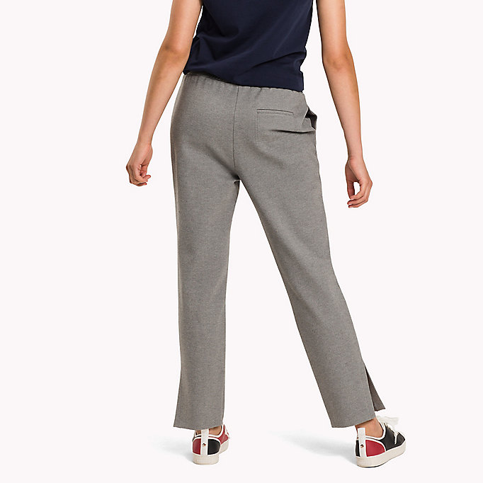 TOMMY HILFIGER Regular Fit Hose - DARK GREY HTR - TOMMY HILFIGER Damen - main image 1