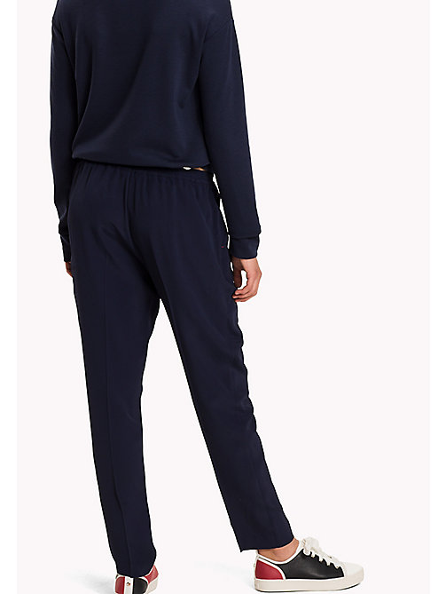TOMMY HILFIGER Regular Fit Trousers - PEACOAT - TOMMY HILFIGER Trousers - detail image 1