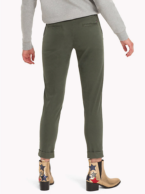 TOMMY HILFIGER Skinny Fit Chino - THYME - TOMMY HILFIGER Trousers - detail image 1