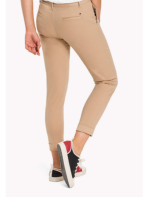 TOMMY HILFIGER Skinny Fit Chino - TAN - TOMMY HILFIGER Trousers - detail image 1