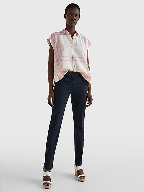 TOMMY HILFIGER Skinny Fit Chino - MIDNIGHT - TOMMY HILFIGER Trousers - detail image 1