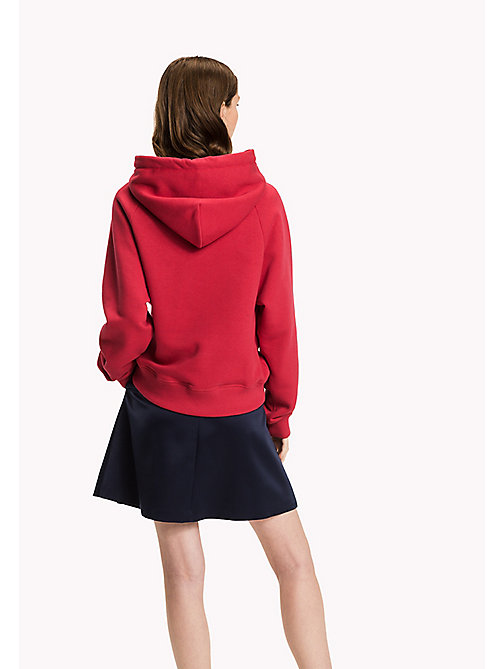 TOMMY HILFIGER Comfort fit hoodie - CRIMSON - TOMMY HILFIGER Sweaters & Hoodies - detail image 1
