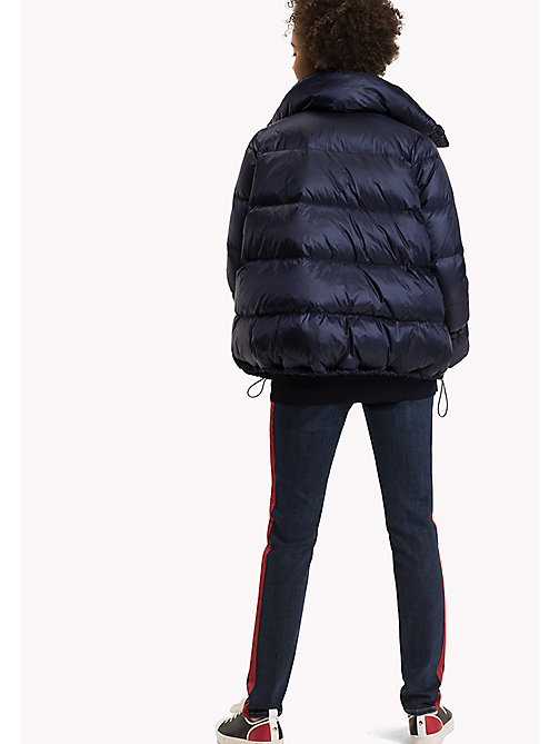 TOMMY HILFIGER Regular fit donzen puffer - PEACOAT - TOMMY HILFIGER Jassen & Jacks - detail image 1