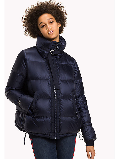 TOMMY HILFIGER Regular Fit Down Puffer - PEACOAT - TOMMY HILFIGER Coats & Jackets - main image
