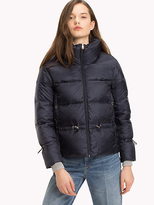 TOMMY HILFIGER Premium Down Jacket - PEACOAT - TOMMY HILFIGER Clothing - main image