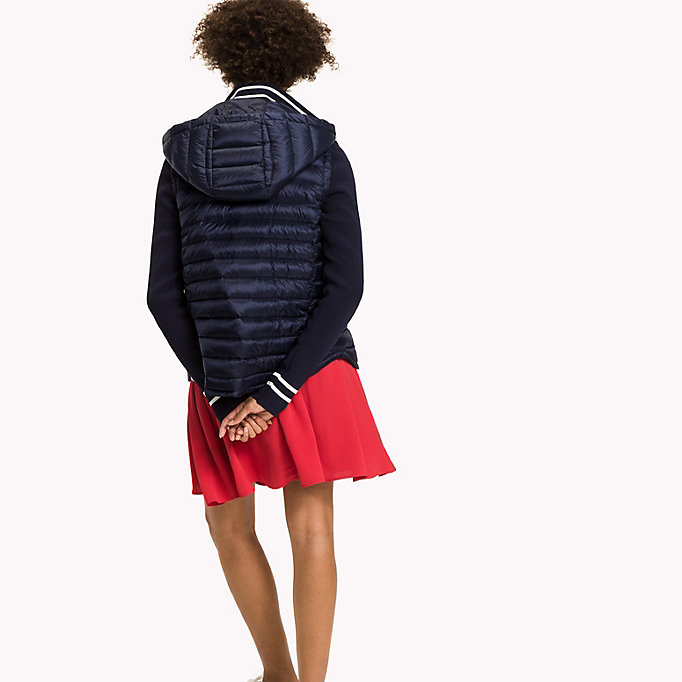 TOMMY HILFIGER Slim Fit Down Jacket - CRIMSON - TOMMY HILFIGER Clothing - detail image 1