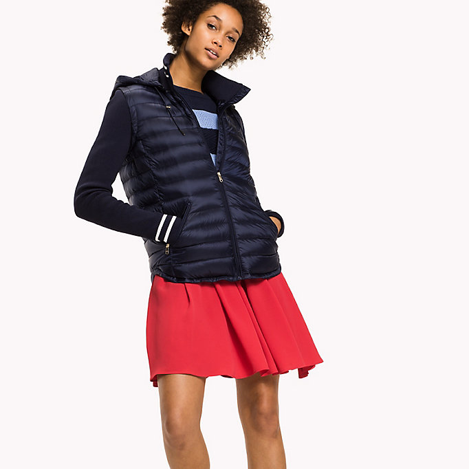 TOMMY HILFIGER Slim Fit Down Jacket - CRIMSON - TOMMY HILFIGER Clothing - detail image 2