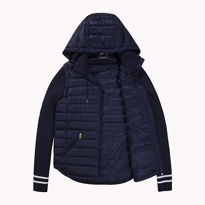 TOMMY HILFIGER Slim Fit Down Jacket - CRIMSON - TOMMY HILFIGER Clothing - detail image 4