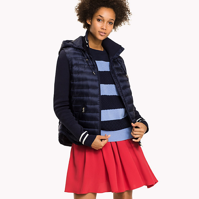 TOMMY HILFIGER Slim Fit Down Jacket - CRIMSON - TOMMY HILFIGER Clothing - main image