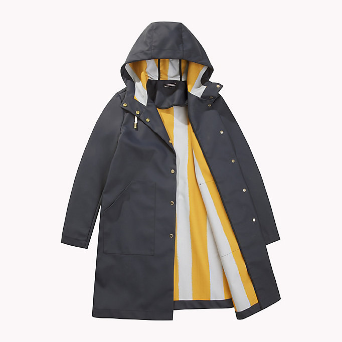 TOMMY HILFIGER Classic Rain Coat - RADIANT YELLOW - TOMMY HILFIGER Clothing - detail image 4