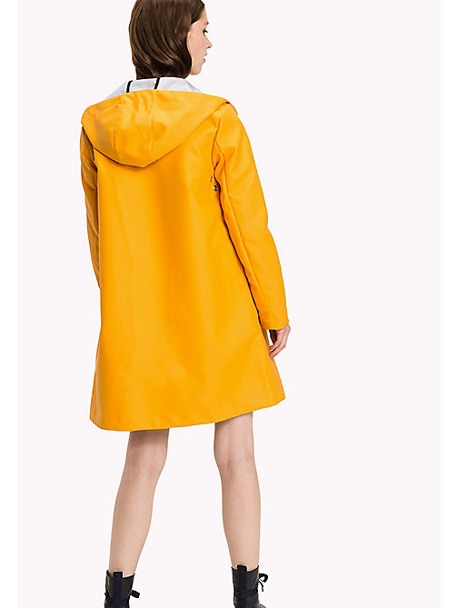 TOMMY HILFIGER Classic Rain Coat - RADIANT YELLOW - TOMMY HILFIGER Coats & Jackets - detail image 1