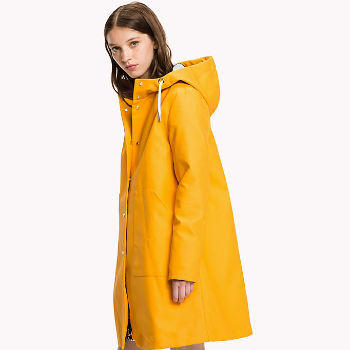 TOMMY HILFIGER Classic Rain Coat - GREEN GABLES - TOMMY HILFIGER Clothing - detail image 3