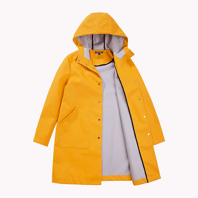 TOMMY HILFIGER Classic Rain Coat - GREEN GABLES - TOMMY HILFIGER Clothing - detail image 4