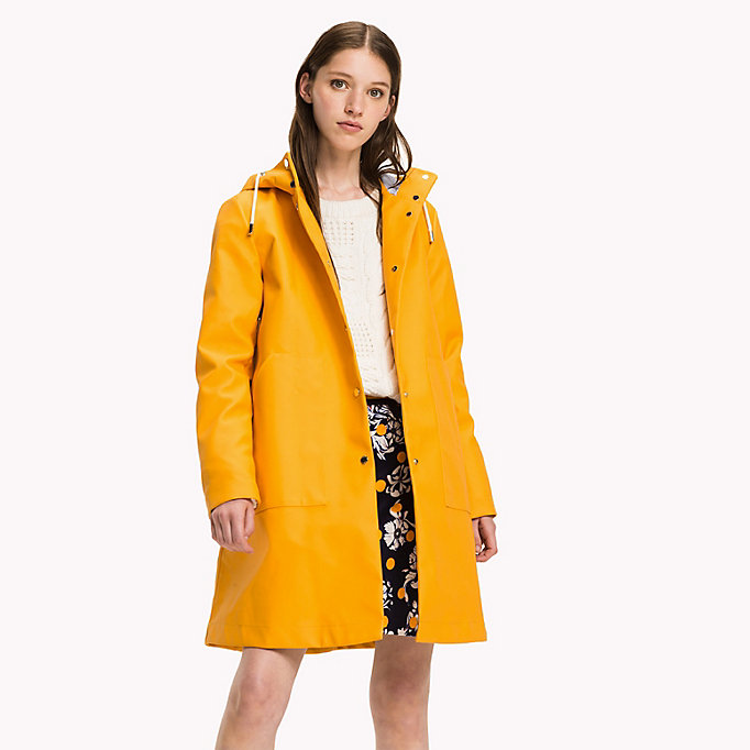 TOMMY HILFIGER Classic Rain Coat - GREEN GABLES - TOMMY HILFIGER Women - main image