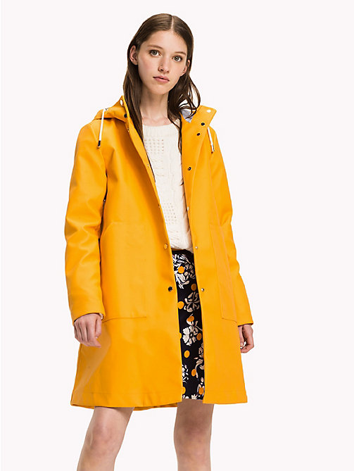 TOMMY HILFIGER Classic Rain Coat - RADIANT YELLOW - TOMMY HILFIGER Coats & Jackets - main image