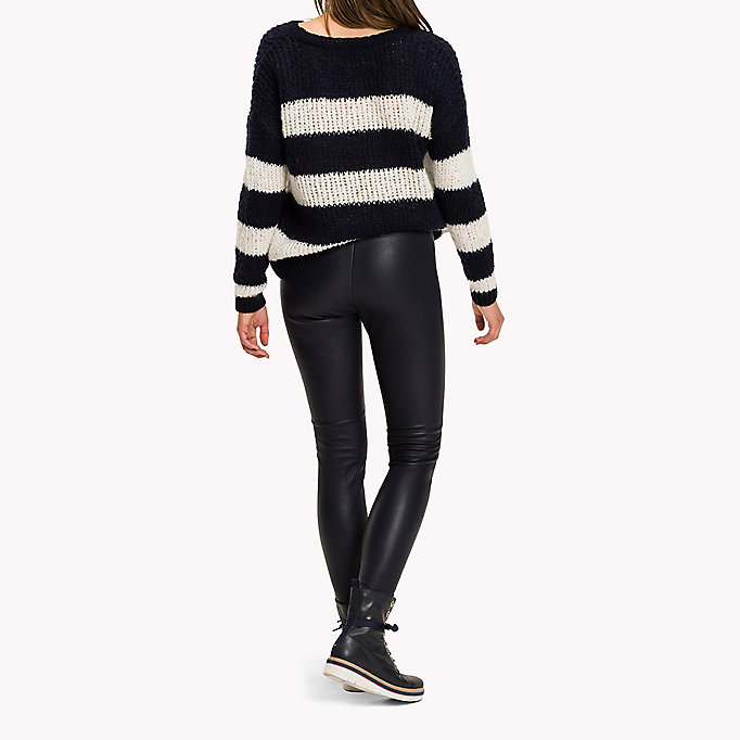 TOMMY HILFIGER Jeggings in pura pelle - BLACK BEAUTY - TOMMY HILFIGER Donne - dettaglio immagine 1