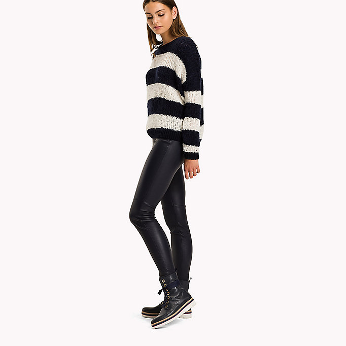 TOMMY HILFIGER Jeggings in pura pelle - BLACK BEAUTY - TOMMY HILFIGER Donne - dettaglio immagine 2
