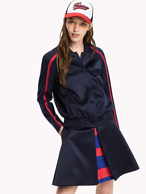TOMMY HILFIGER Regualr Fit Bomber - PEACOAT - TOMMY HILFIGER Coats & Jackets - main image