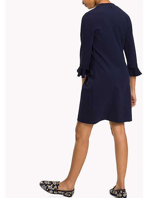 TOMMY HILFIGER Punto Milano Fitted Dress - PEACOAT - TOMMY HILFIGER Dresses & Jumpsuits - detail image 1