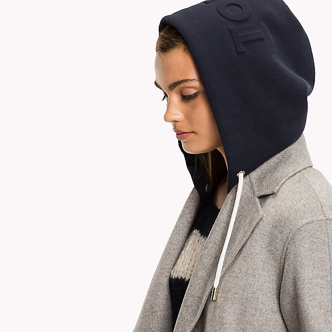 TOMMY HILFIGER Interchangeable Hood - CRIMSON - TOMMY HILFIGER Women - main image