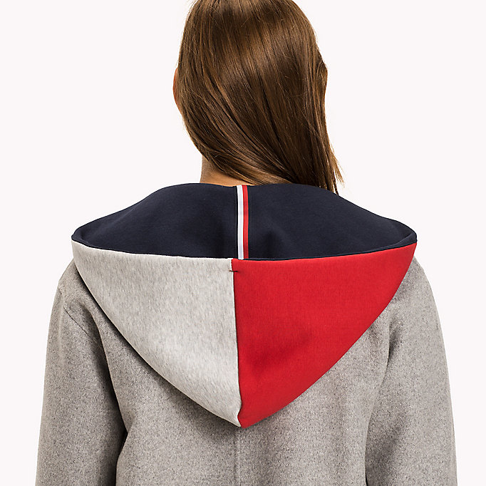 TOMMY HILFIGER Interchangeable Hood - PEACOAT - TOMMY HILFIGER Women - detail image 1
