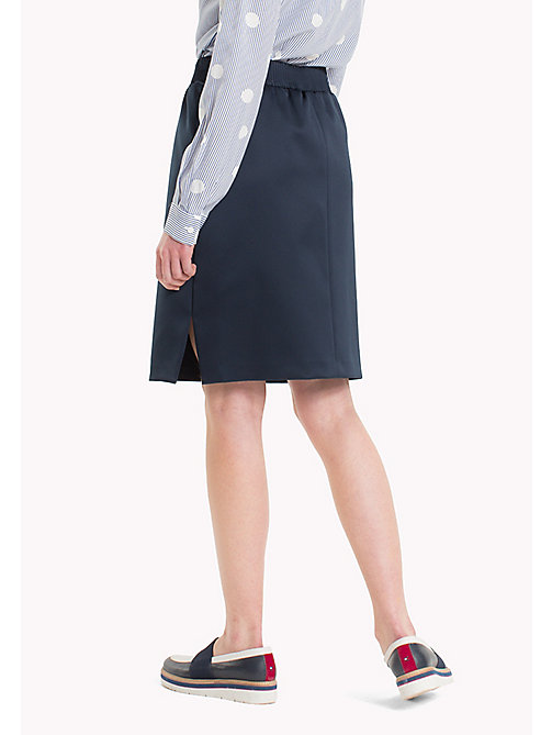 TOMMY HILFIGER Exclusive Regular Fit Skirt - PEACOAT - TOMMY HILFIGER Women - detail image 1