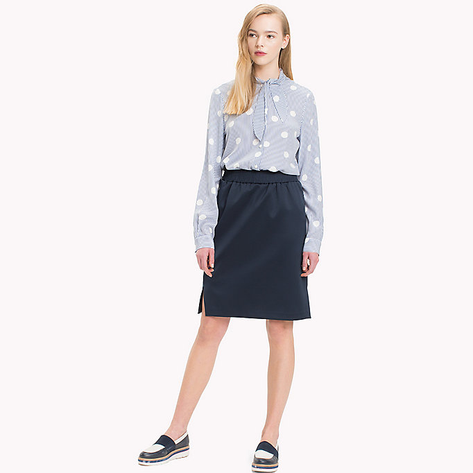 TOMMY HILFIGER Exclusive Regular Fit Skirt - THYME - TOMMY HILFIGER Women - main image