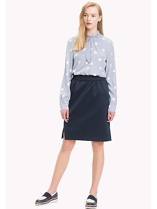 TOMMY HILFIGER Exclusive Regular Fit Skirt - PEACOAT - TOMMY HILFIGER Women - main image