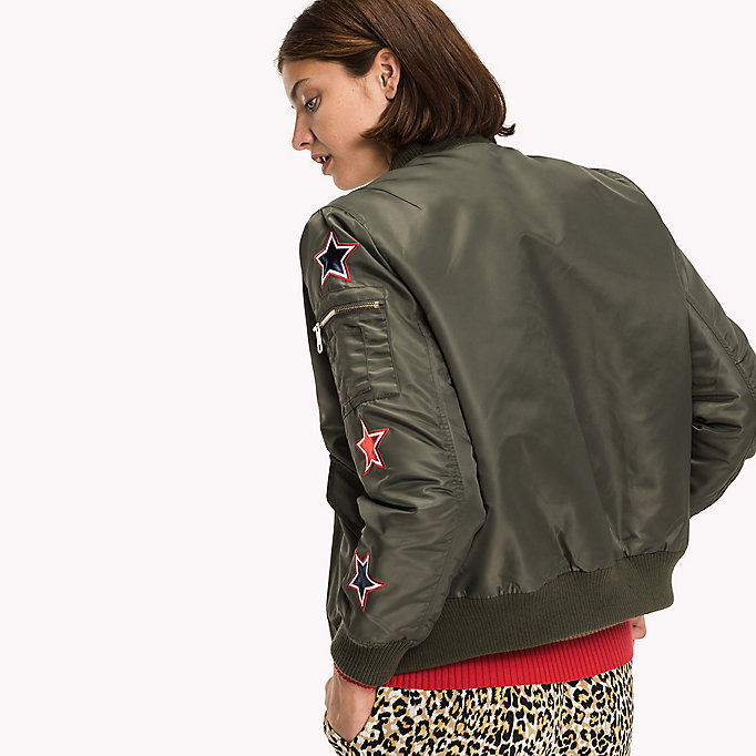 TOMMY HILFIGER Thermore Bomber - MIDNIGHT - TOMMY HILFIGER Clothing - detail image 1