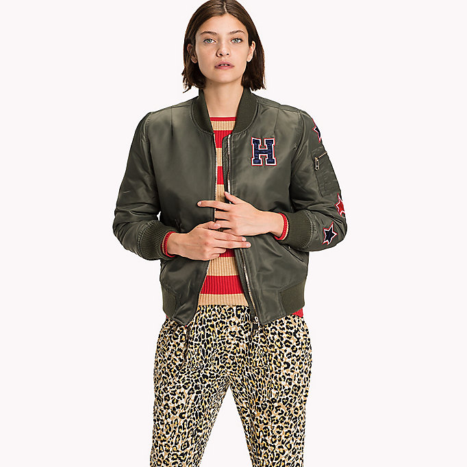 TOMMY HILFIGER Thermore Bomber - MIDNIGHT - TOMMY HILFIGER Clothing - main image