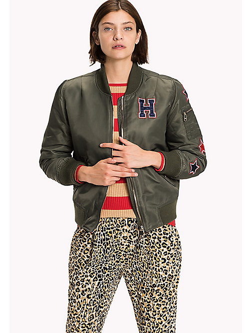 TOMMY HILFIGER Thermore Bomber - GRAPE LEAF - TOMMY HILFIGER Coats & Jackets - main image