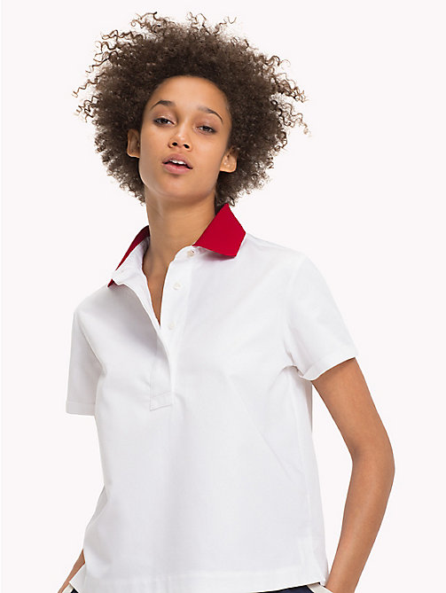 TOMMY HILFIGER Regular Fit Polo - CLASSIC WHITE - TOMMY HILFIGER Clothing - main image