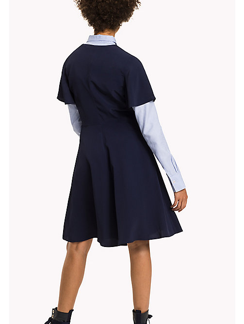 TOMMY HILFIGER Fit and Flare Striped Dress - PEACOAT - TOMMY HILFIGER Dresses & Jumpsuits - detail image 1