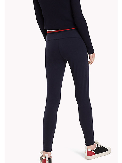 TOMMY HILFIGER Athletic Super Slim Fit Trousers - PEACOAT - TOMMY HILFIGER Trousers - detail image 1