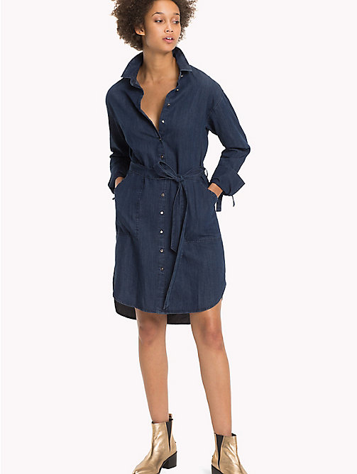 TOMMY HILFIGER Denim Shirt Dress - MAXIME - TOMMY HILFIGER Dresses & Jumpsuits - main image