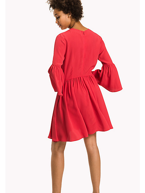 TOMMY HILFIGER Fitted Dress - CRIMSON - TOMMY HILFIGER Dresses & Jumpsuits - detail image 1