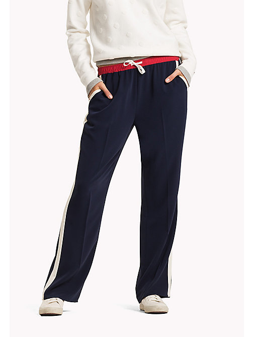 TOMMY HILFIGER Legere Relaxed Fit Hose - PEACOAT / MULTI - TOMMY HILFIGER Jogginghosen - main image
