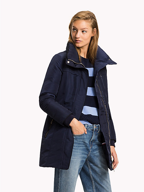 TOMMY HILFIGER Utility Down Coat - PEACOAT - TOMMY HILFIGER Coats & Jackets - main image