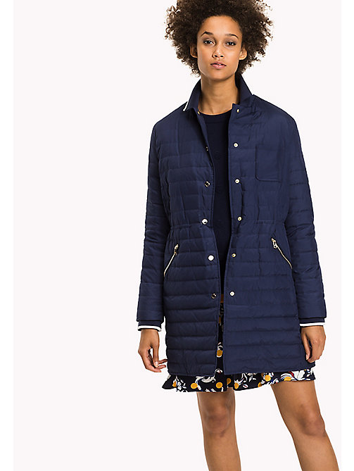 TOMMY HILFIGER Lightweight Down Jacket - PEACOAT - TOMMY HILFIGER Coats & Jackets - main image