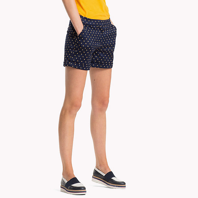 TOMMY HILFIGER Printed short - BUTTERFLY FLAG / HTR - TOMMY HILFIGER Clothing - main image