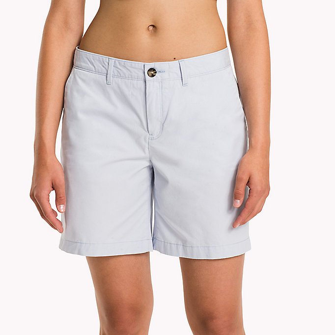 TOMMY HILFIGER IM LAMARA SHORT - LIGHT LILAC - TOMMY HILFIGER Women - detail image 4