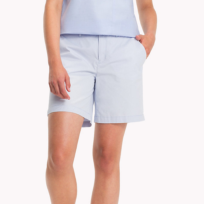 TOMMY HILFIGER IM LAMARA SHORT - LIGHT LILAC - TOMMY HILFIGER Clothing - main image