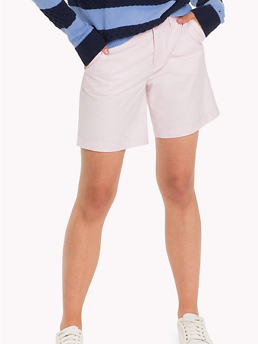 TOMMY HILFIGER IM LAMARA SHORT - LIGHT LILAC - TOMMY HILFIGER Trousers & Shorts - main image