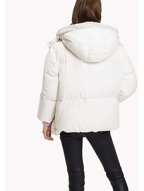 TOMMY HILFIGER Premium Down Coat - SNOW WHITE - TOMMY HILFIGER Coats & Jackets - detail image 1