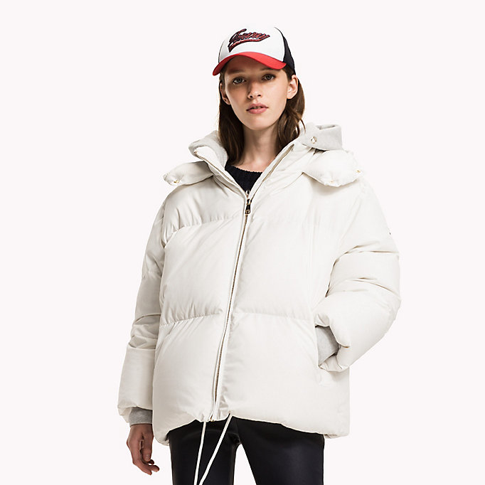 TOMMY HILFIGER Premium Down Coat - CRIMSON - TOMMY HILFIGER Women - main image