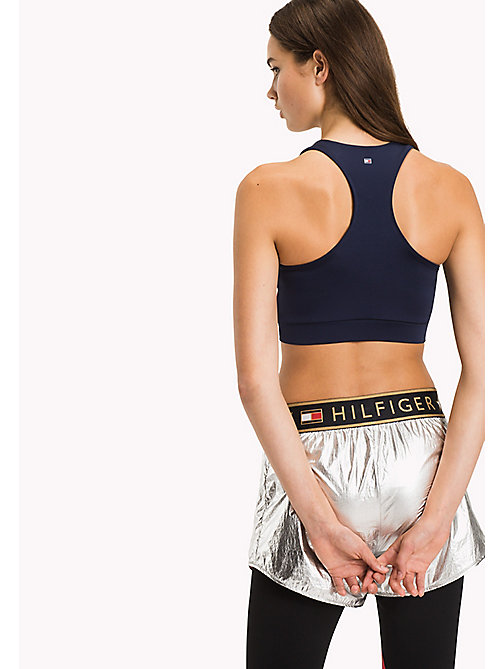 TOMMY HILFIGER Colour-Blocked Bra Top - MIDNIGHT - TOMMY HILFIGER Clothing - detail image 1