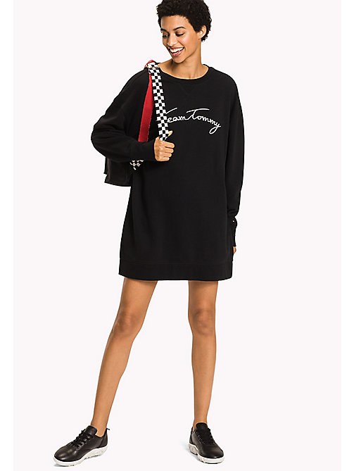 TOMMY HILFIGER Comfort Fit Logo Sweatshirt - BLACK BEAUTY - TOMMY HILFIGER Sweatshirts - main image
