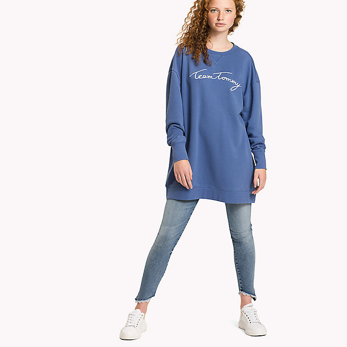 TOMMY HILFIGER Comfort Fit Logo Sweatshirt - ORCHID PINK - TOMMY HILFIGER Clothing - main image